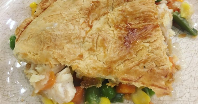 RECIPE: Lightened Up Chicken Pot Pie
