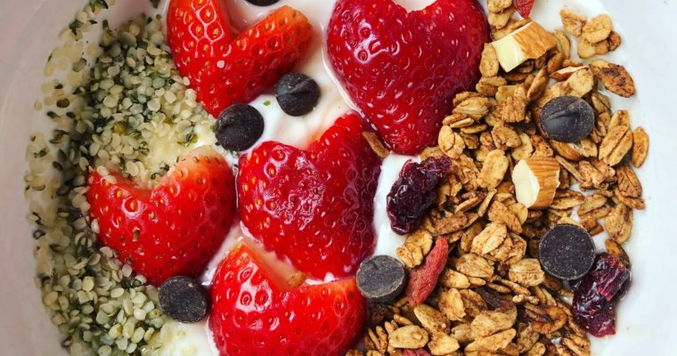 RECIPE: 2-for-1 HOMEMADE GRANOLA