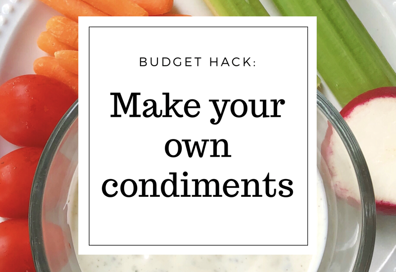 Budget Hack: Make Your Own Dips/Dressings [with recipes]