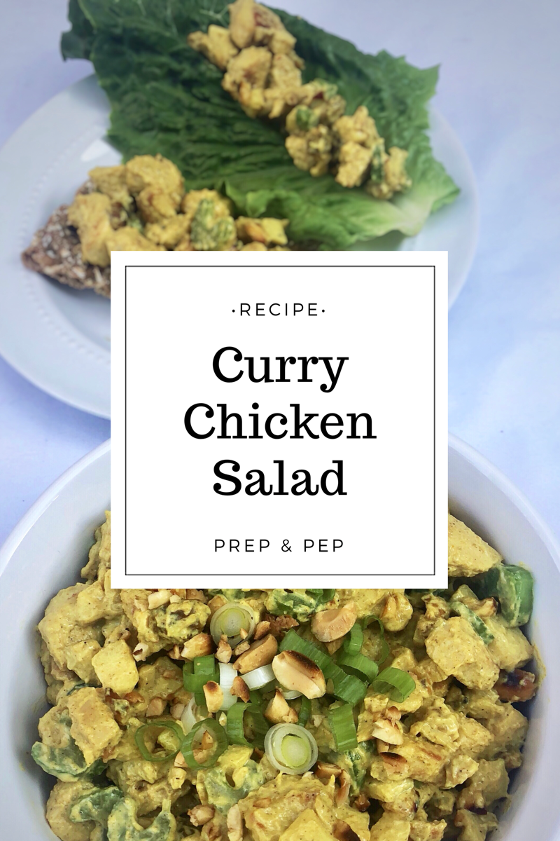[RECIPE]: Curry Chicken Salad