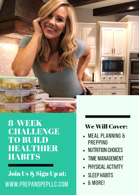 8-WEEKS TO BUILD HEALTHIER HABITS: SIGN-UP